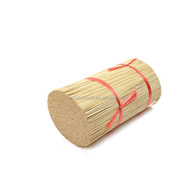 Chinese plastic packing China-made bamboo stick incense for temple