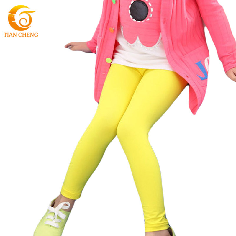 IRELIA Girls Leggings 3 Pack Cotton Novel Design Size 2-10