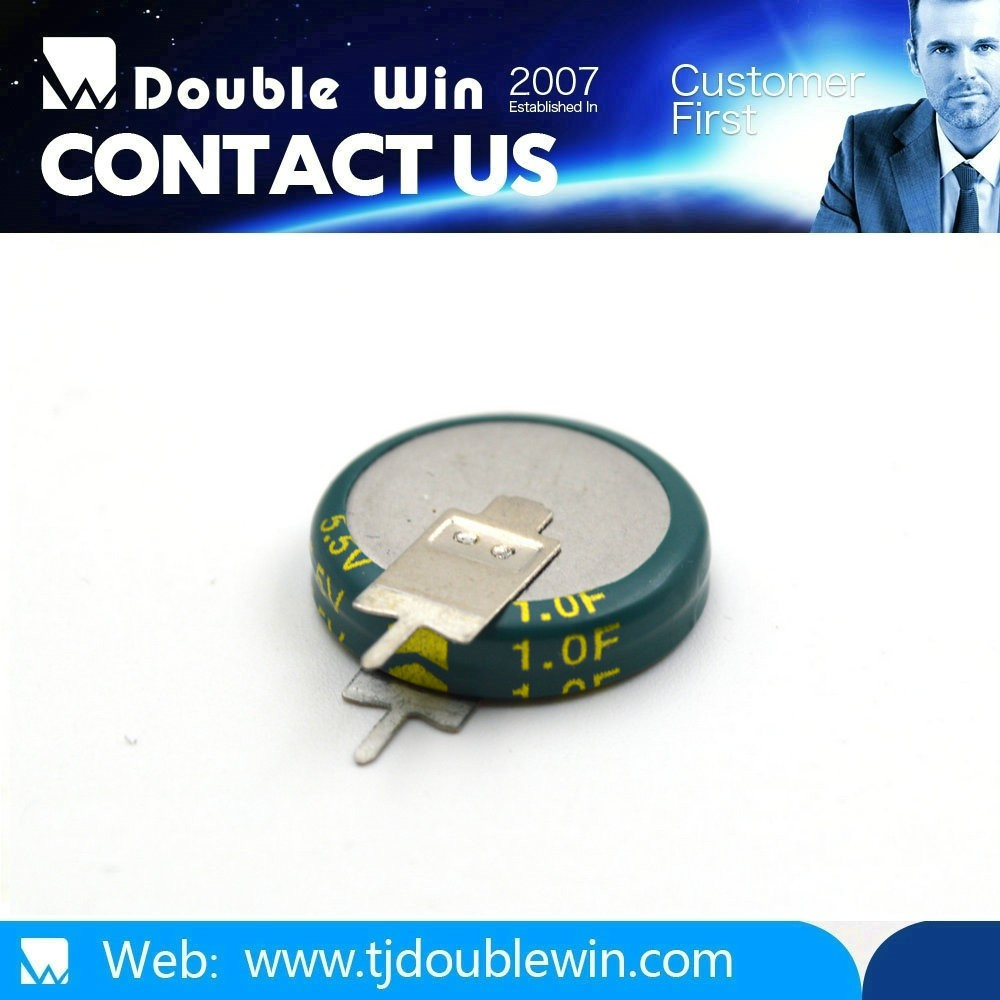 5.5V Coin Farad Capacitor / Electric Double Layer Capacitor