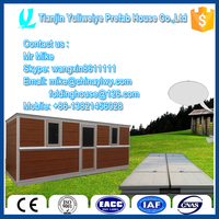 Prefabricated Modern High quality office caravan
