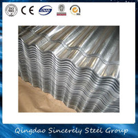 Low price corrugated galvanized fiber zinc roof sheets