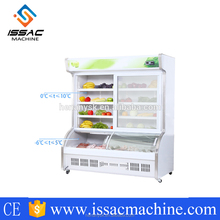 ISO9001 Certified supermarket used glass door refrigerators Customized