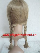 Top quality heat resistant synthetic plait wig