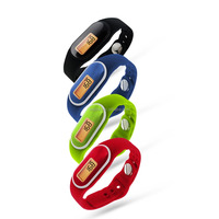 "3D Pedometer Watch with ""One Tap' Mode Function"