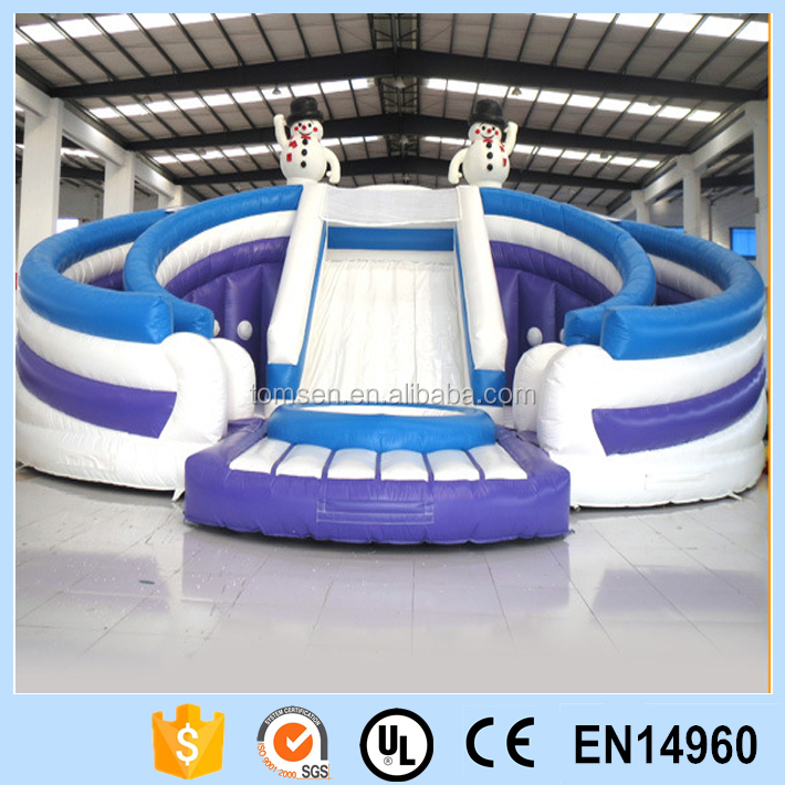 Inflatable snowman bouncer with slide/snowman bouncer with slide/snowman bouncer
