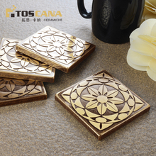 Interior decoration brass copper decorative border tile