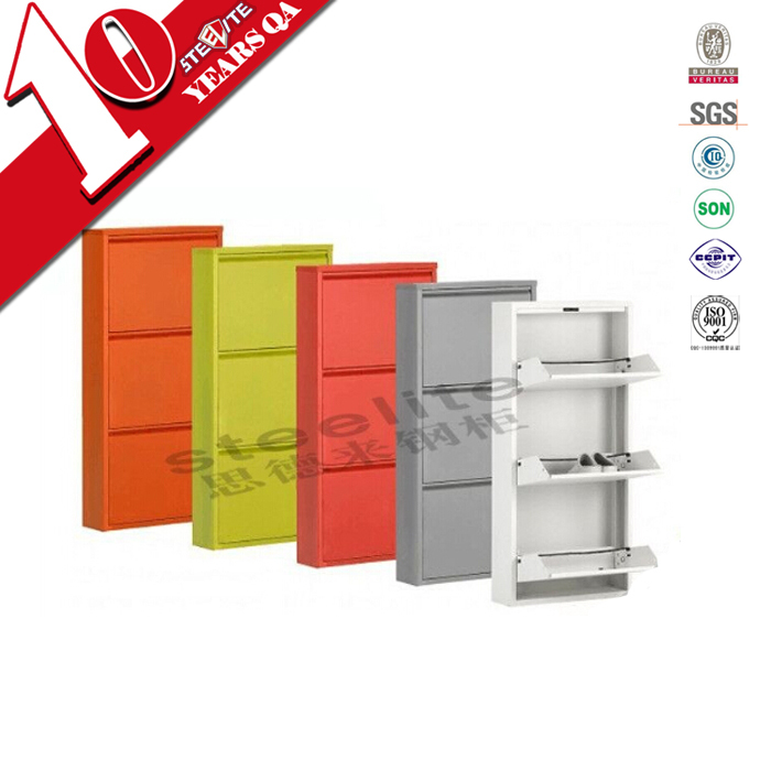 Modern design high gloss shoe cabinet / med-range shoe cabinet