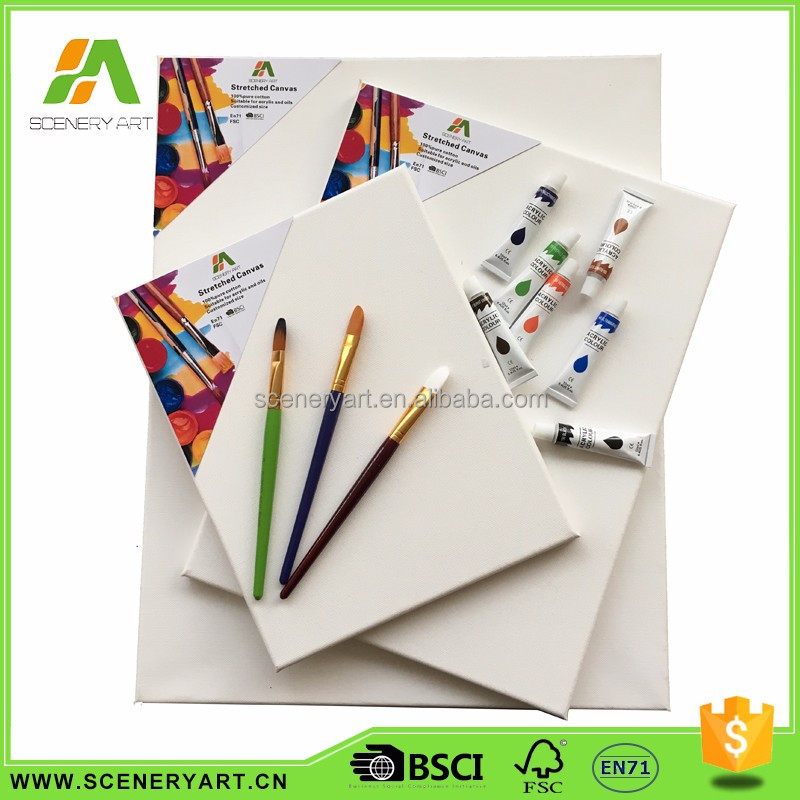 China Supplier Standard Economic big stretched canvas art supplies