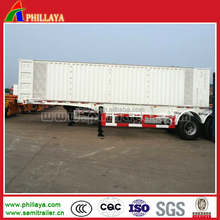 1-3 Axles Enclosed Strong Steel Box Utility Trailer