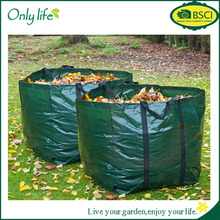 Onlylife 2 Strong Garden Waste Refuse Grass Sack Waterproof Leaf Bag with Handles