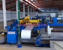 3x1250 low carbon steel mild steel coil automatic sheet metal slitting machine