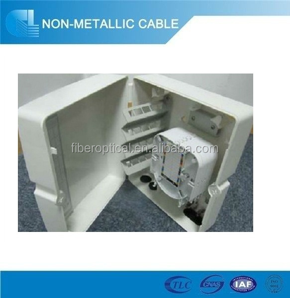 supply china indoor plastic Small Compact Fiber Optic Termination Box suitable for FC/LC/SC/ST adapter