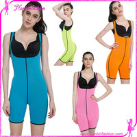 wholesale four colors full ultra sweat slim body shaper suit for women