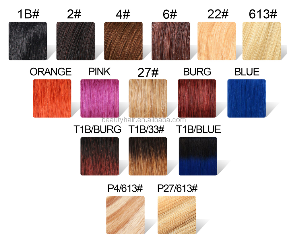 Weave Hair Color Chart Ibovnathandedecker