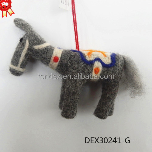 Christmas Ornaments With Hot Sell New Design Felt Christmas Animals For Christmas Tree Decoration