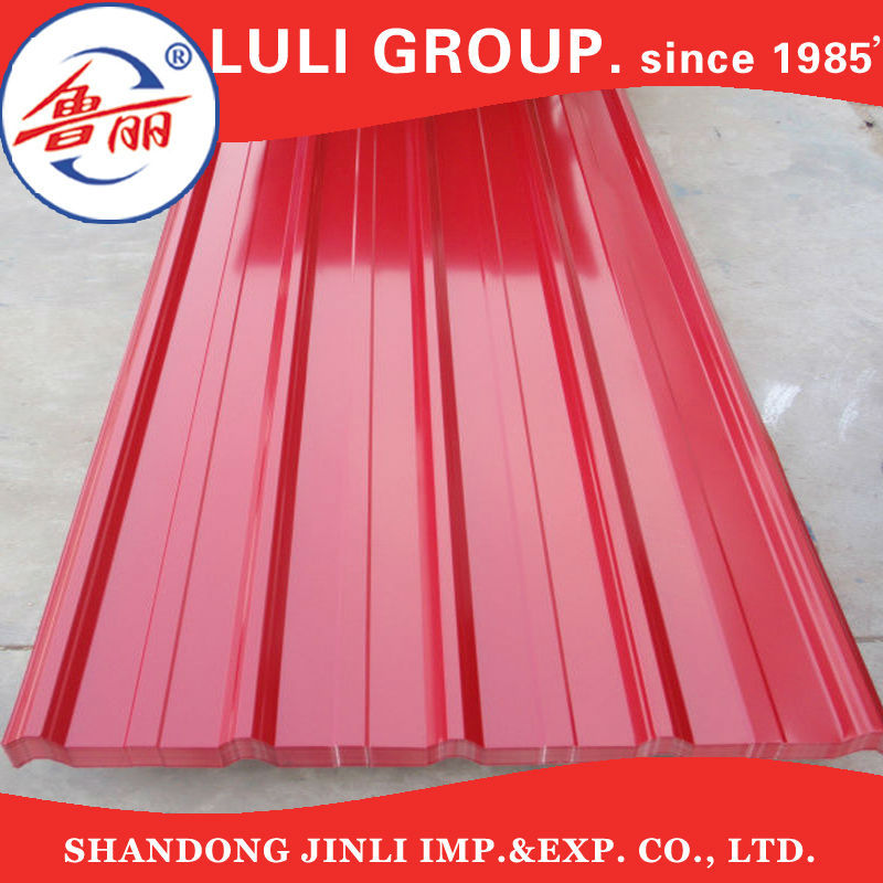 galvanized/aluzinc/galvalume steel sheets/coils plates corrugated metal roofing Pre-painted Galvanized roofing sheets