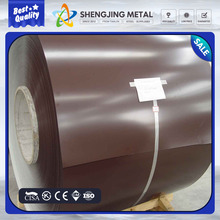 Color Coated PPGI galvanized steel coil porcelain enamel steel sheets made in China