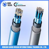 Grey color outer sheath Marine telecommunication cable recycling machine