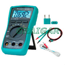 MT-1232 3 3/4 Autorange Digital Multimeter Auto range, Frequency/Capacitance/Temperature/DMM All in 1.