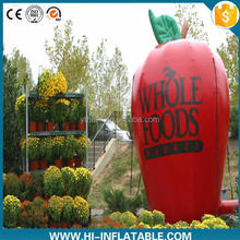 2016 factory price inflatable product replica, inflatable apple for advertising