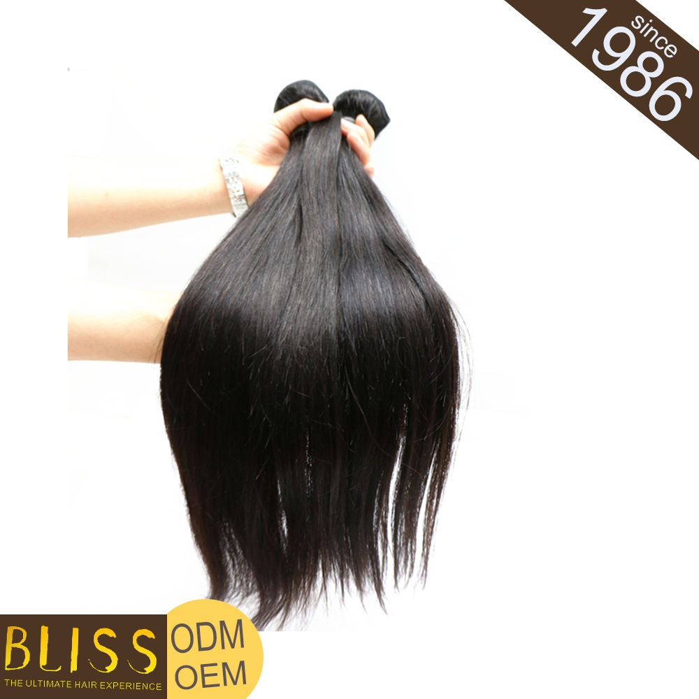 Large Stock Easy To Dye Brizillian Alibaba Hand Tied Brazilian Hair Weft