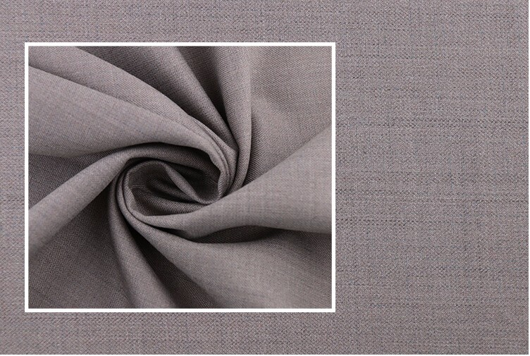 80% polyester and 20%viscose 130x70 woven twill clothing fabric uzbekistan