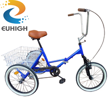Factory whosale folding tricycle on sale