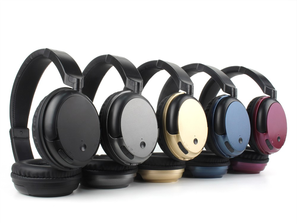 Stereo headphone foldable wireless headset