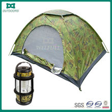 2 person camouflage pattern camping tent