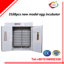 low price high quality 3168pcs bird chicken duck egg incubator and hatching machine