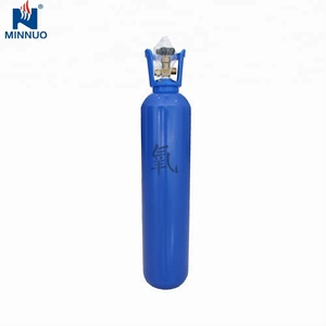 China manufacture 10L seamless steel oxygen bottle