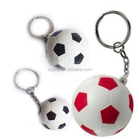 wholesale cheap custom soccer ball keychains in bulk