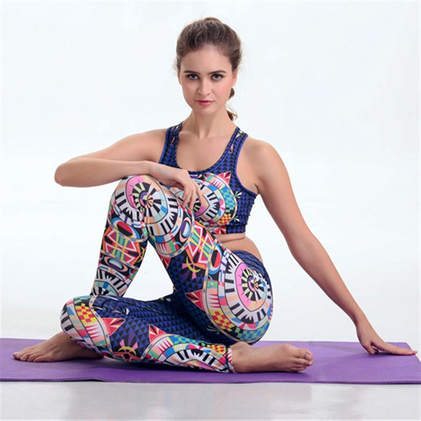 Guangzhou Manufacturer custom active yoga wear set for women