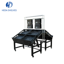 Hot Sale Supermarket Vegetable Rack Metal Fruit Display Stand With Good Quality