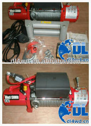 4x4 electric winch 12v 13000LBS tow truck winch for sale
