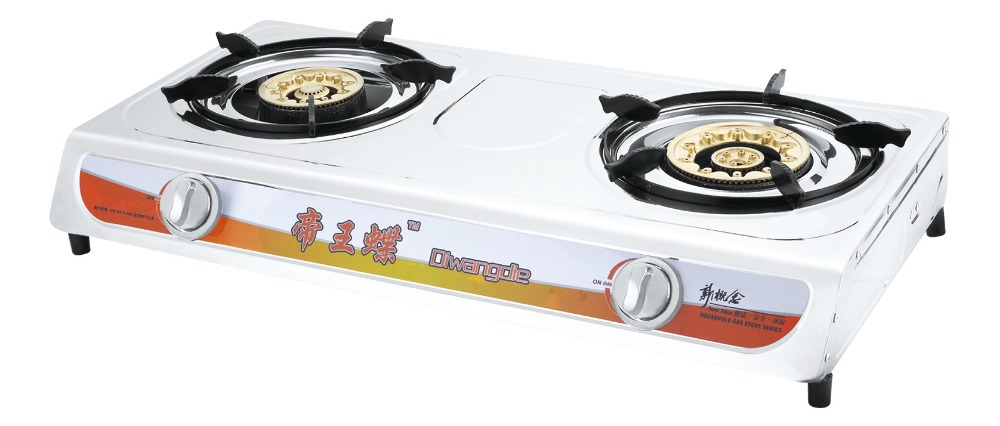 Zy Sftl 01 High Quality Plastic Gas Stove India Two Burner For