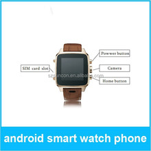 Andrid smart watch phone W8 with Android system 4.2, 3.0M Support Android,Price of smart watch phone is good