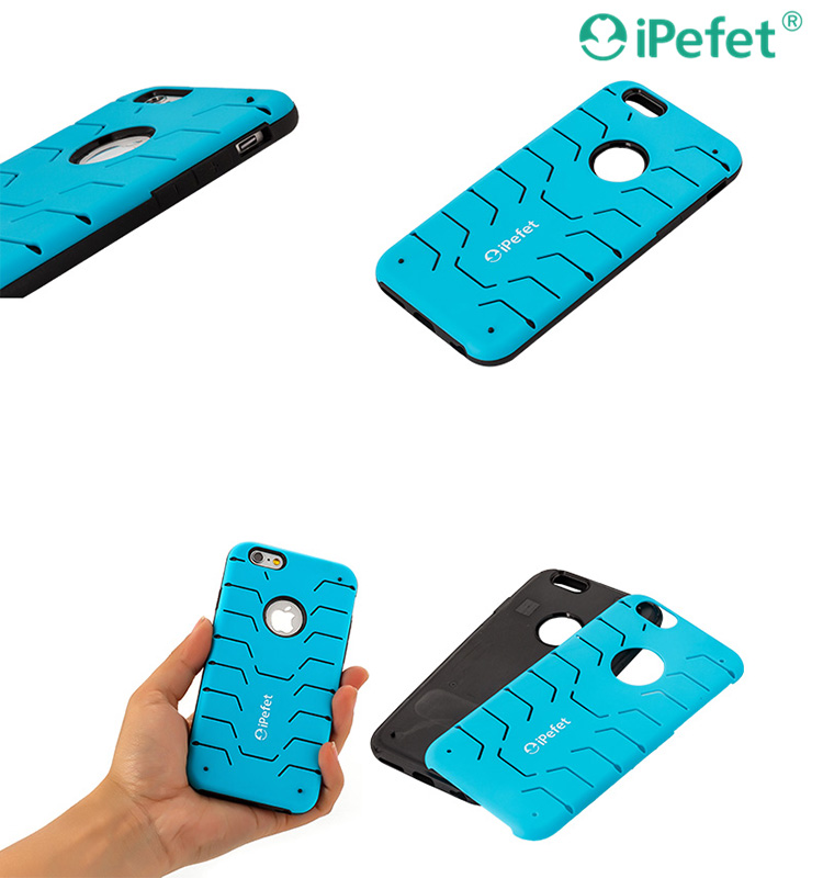 iPefet- 2016 Top selling products 2 in 1 Slim TPU&PC case cover for iPhone 6