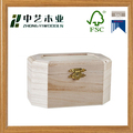 Best selling handmade cheap mini wooden gift package boxes