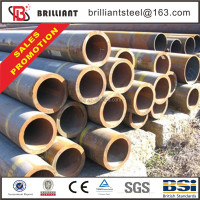 steel pipe tube din 17175 equivalent astm a179 seamless steel tube steel bollards