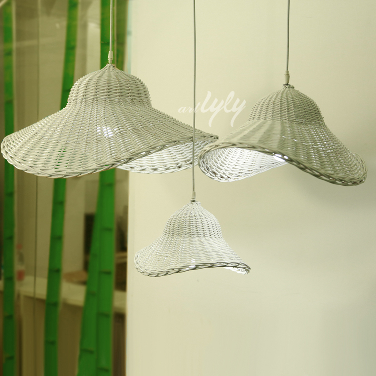 2015 newest natural willow bulk lamp shades for home decoration wholesale