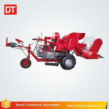 Cheap price high quality paddy combine mini rice harvester