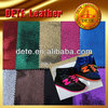 new arrival colorful pu glitter fabric leatherette fabric made in China
