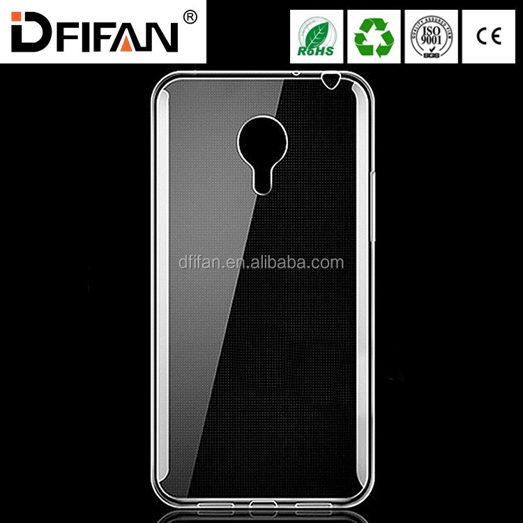 Ultra thin Transparent Clear Case For Meizu note 3 high quality TPU mobile phone cover case for meizu note 3
