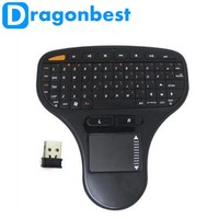 New N5903 2.4G Wireless Keyboard wireless air mouse with keyboard for smart tv Stick With Retail Box