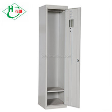 Single Door Wardrobe Cabinet Cheap Steel Almirah Godrej Designs with Price for Small Bedroom