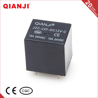 QIANJI 2015 Made In China 220V 20A 10A Miniature Electronic PCB Relay
