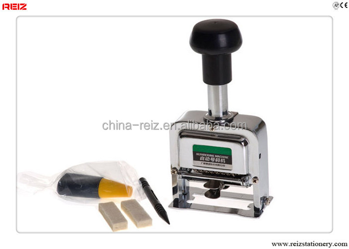 6 digital numbering machine