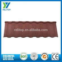 Aluminium Zinc Stone Chip Coated Types Of Roof Covering For Apartments