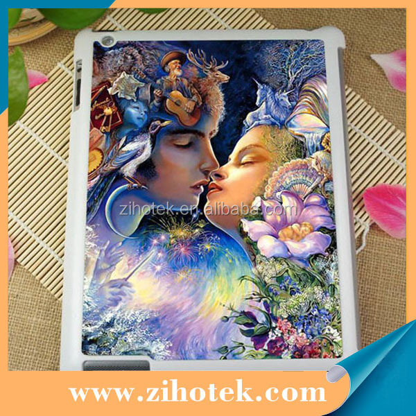 2D blank sublimation printing tablet PC case for ipad 2/3/4